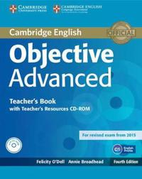 Objective Advanced Teacher's Book With Teacher's Resources