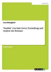 """""""Senilita"""" Von Italo Svevo. Vorstellung Und Analyse Des Romans"""