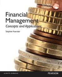 Financial Management: Concepts and Applications with MyFinanceLab Global Edition