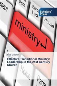 Effective Transitional Ministry