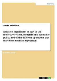 Emission Mechanism as Part of the Monetary System, Monetary and Economic Policy and of the Different Operations That May Mean Financial Repression