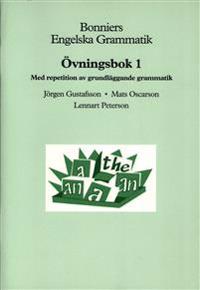 Bonniers Engelska Grammatik Övningsbok 1