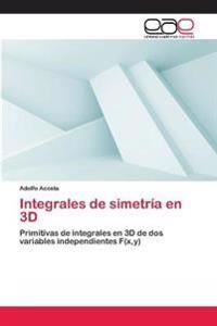 Integrales de Simetria En 3D