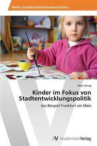Kinder Im Fokus Von Stadtentwicklungspolitik