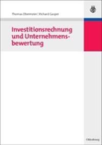 Investitionsrechnung Und Unternehmensbewertung