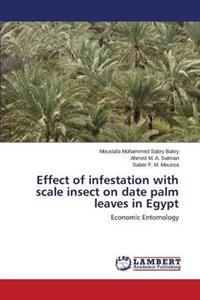 Effect of Infestation with Scale Insect on Date Palm Leaves in Egypt