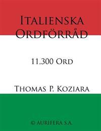 Italienska Ordforrad
