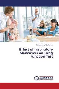Effect of Inspiratory Maneuvers on Lung Function Test