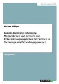 Familie, Trennung, Scheidung. Moglichkeiten Und Grenzen Von Unterstutzungsangeboten Fur Familien in Trennungs- Und Scheidungsprozessen