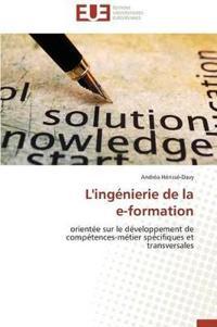 L'Ingenierie de la E-Formation