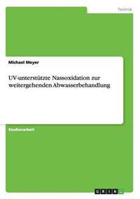 UV-Unterstutzte Nassoxidation Zur Weitergehenden Abwasserbehandlung