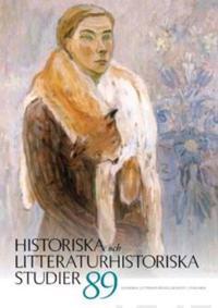 Historiska och litteraturhistoriska studier 89