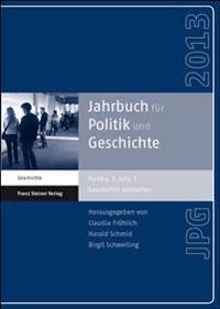 Jahrbuch für Politik und Geschichte 4 (2013)