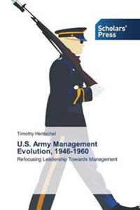 U.S. Army Management Evolution, 1946-1960