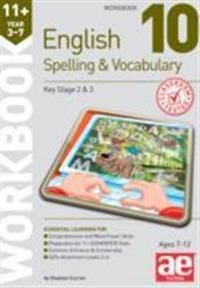 11+ Spelling and Vocabulary Workbook 10