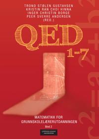 QED 1-7; matematikk for grunnskolelærerutdanningen; bind 2