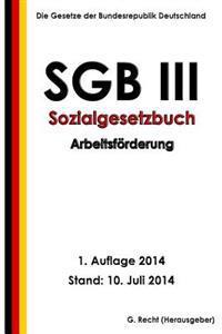 Sgb III - Sozialgesetzbuch - Arbeitsforderung