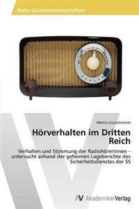 Horverhalten Im Dritten Reich
