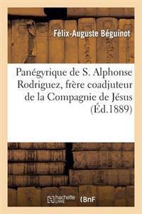 Pan�gyrique de S. Alphonse Rodriguez, Fr�re Coadjuteur de la Compagnie de J�sus