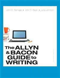 The Allyn & Bacon Guide to Writing with Access Code