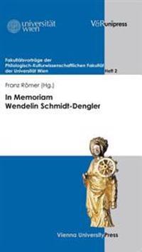 In Memoriam Wendelin Schmidt-dengler