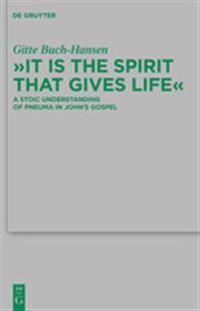 It is the Spirit that Gives Life