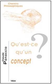 Qu'est-Ce Qu'un Concept?