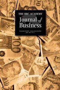 The Brc Academy Journal of Business Volume 4, Number 1