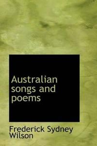 Australian Songs and Poems