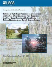 Relation of Hydrologic Processes to Groundwater and Surface-Water Levels and Flow Directions in a Dune-Beach Complex at Indiana Dunes National Lakesho