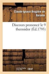 Discours Prononc� Le 9 Thermidor