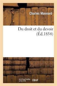 Du Droit Et Du Devoir
