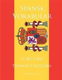 Spansk Vokabular