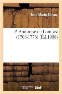 P. Ambroise de Lombez (1708-1778)