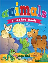 Animal Coloring Book (Avon Coloring Books)