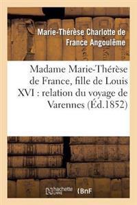 Madame Marie-Therese de France, Fille de Louis XVI