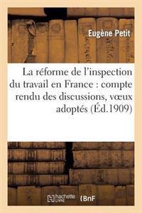 La Reforme de L Inspection Du Travail En France