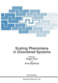 Scaling Phenomena in Disordered Systems