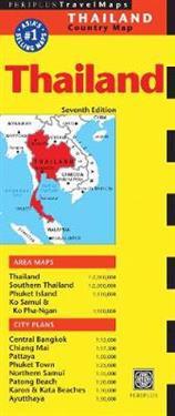 Periplus Travel Maps Thailand