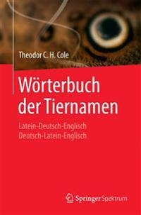 Wörterbuch Der Tiernamen