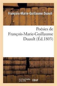 Poesies de Francois-Marie-Guillaume Duault