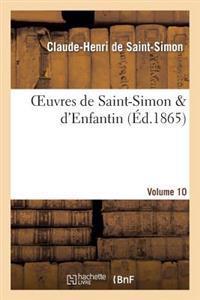 Oeuvres de Saint-Simon D'Enfantin. Volume 10