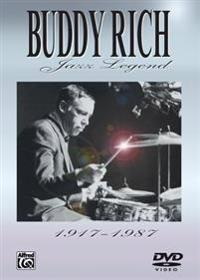 Buddy Rich -- Jazz Legend (1917-1987): Transcriptions and Analysis of the World's Greatest Drummer, DVD