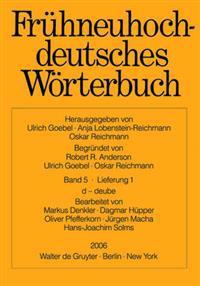 Fruhneuhochdeutsches Worterbuch