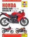 Honda CBR125R, CBR250R & CRf250L/M (2011 - 2014)
