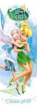 Official Disney Tinkerbell Fairies Slim Calendar 2015
