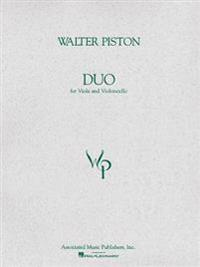 Duo for Viola and Violoncello: Score and Parts