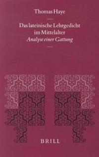 Das Lateinische Lehrgedicht Im Mittelalter