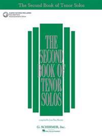 The Second Book of Tenor Solos: With Online Piano Accompaniments [With 2 CD's]