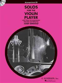 Solos for the Violin Player: With Piano Accompaniment [With CD (Audio)]